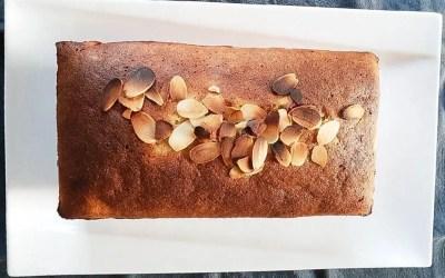 Cake au citron sans gluten, sans lactose ou sans lait, sans sucre