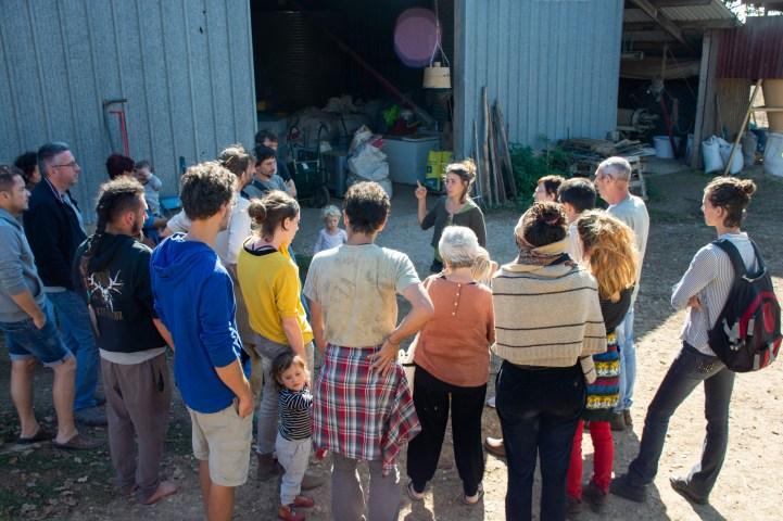 Visite de ferme photo Myrtille Visscher