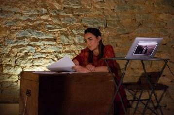 Maud Curassier - Lecture et témoignages paysans photo Myrtille Visscher