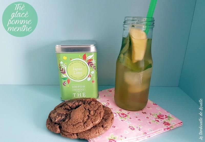 recette-thé-glacé-pomme-menthe