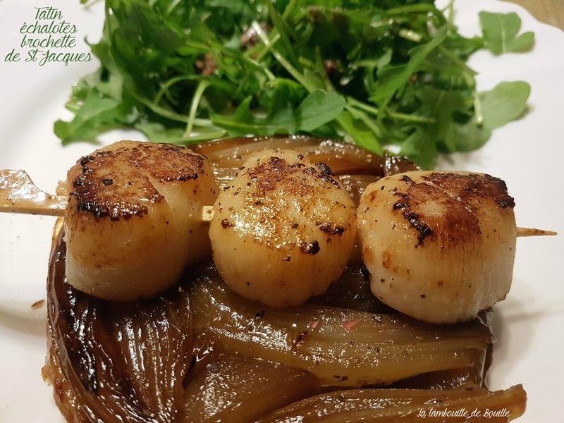 recette-tatin-salée-échalote-noix-saint-jacques