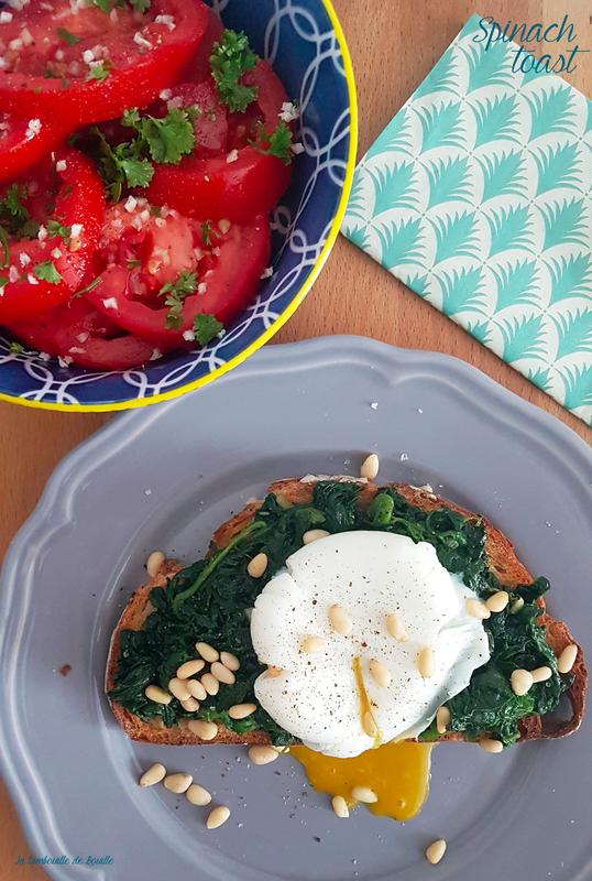 recette-rapide-spinach-toast