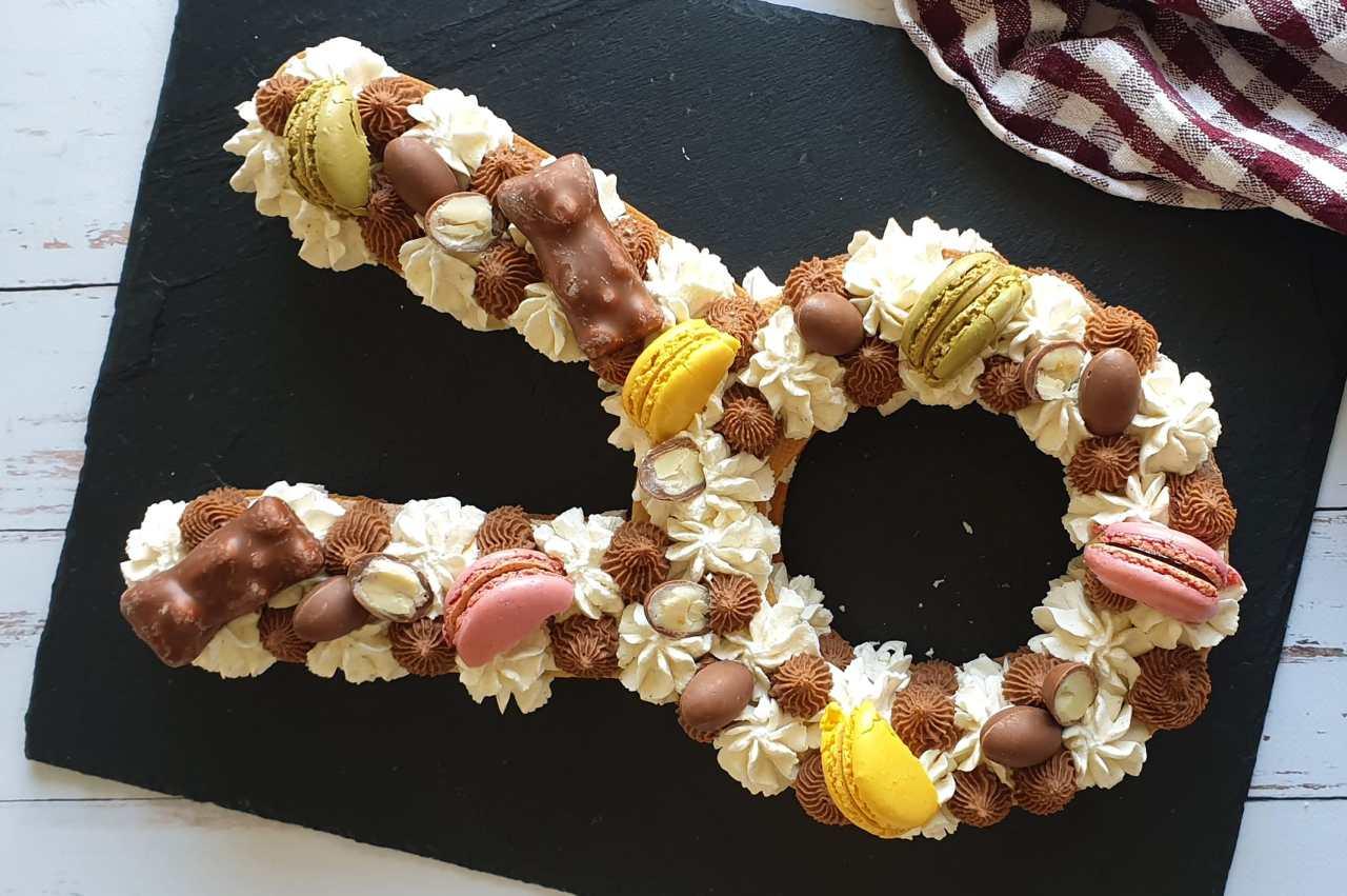 Number cake lapin Pâques