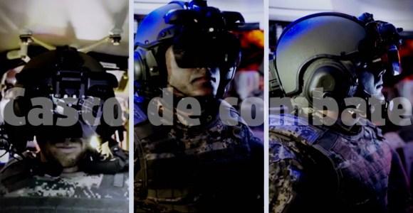 casco de combate