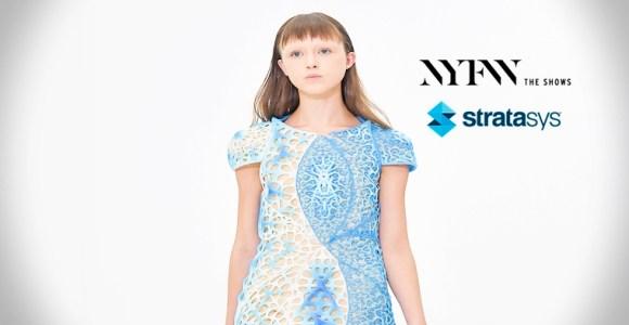 Vestidos creados con impresoras 3D
