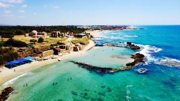 playas en Israel