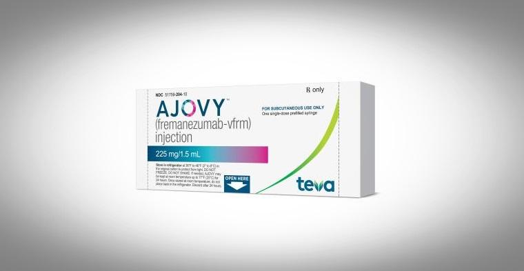 La FDA de Estados Unidos aprueba AJOVY, el primer y único tratamiento preventivo de migraña en adultos.