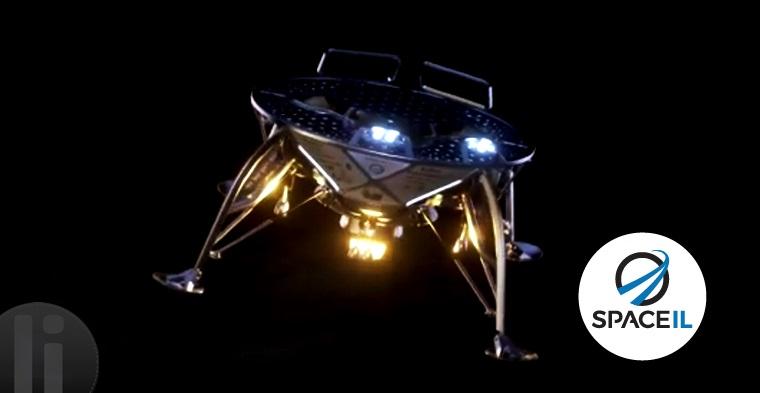 Maniobra para alinear la nave espacial Beresheet en su camino a la Luna.