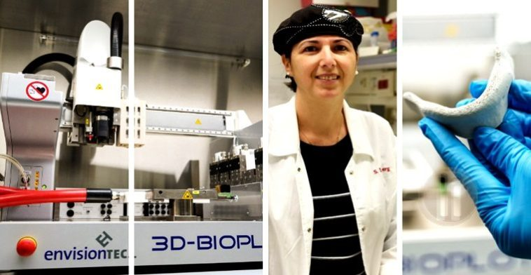 impresión 3D de tejidos