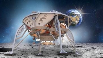 Israel llega a la luna
