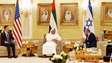 delegación israelí en Abu Dhabi