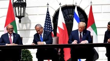 tratado de paz entre Israel y los EAU