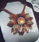 Miciperdo - Collana realizzata in tessitura di perle