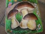 Tegola con Funghi