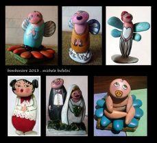 Pebble Art - Soggetti vari per bomboniere