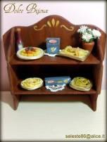 Dolce Bijoux - Mensola in miniatura da esposizione