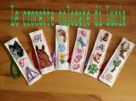 Le crocette colorate di Lucia - Segnalibri Vari