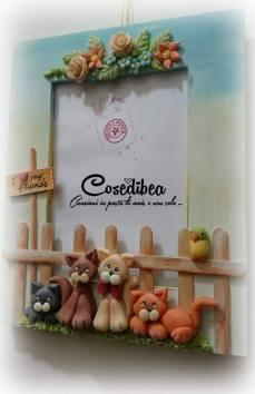 Cosedibea - Cornice con Gattini