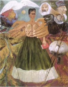 Il Marxismo darà salute agli ammalati - Opera di Frida Kahlo del 1954