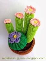 Mai dire Amigurumi - Cactus alto
