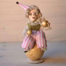 Pupillae Art Dolls - Art Doll Clown