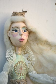 Pupillae Art Dolls - Bambola artistica Regina delle Nevi