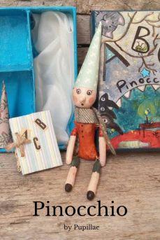 Pupillae Art Dolls - Pinocchio Art doll