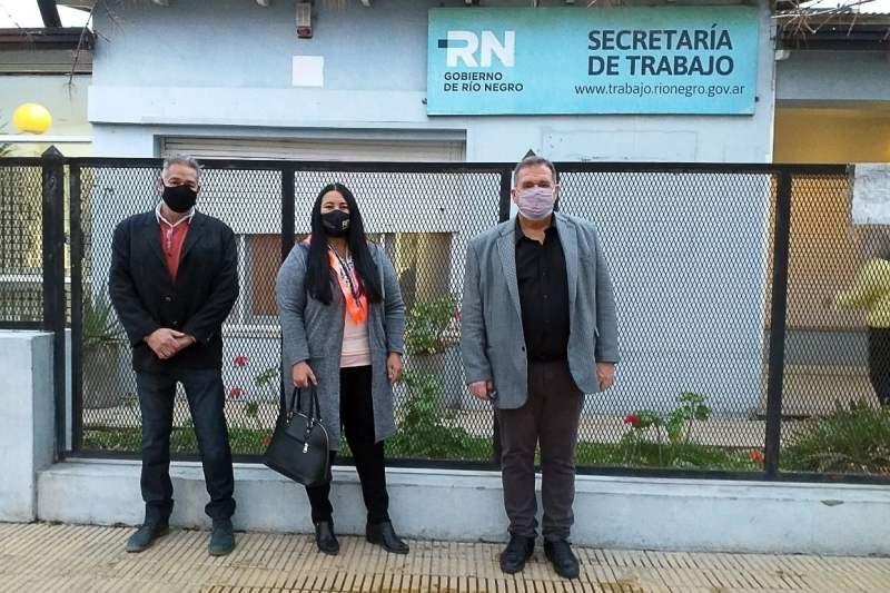 Sergio Barreiro es el nuevo Delegado de Trabajo en Villa Regina