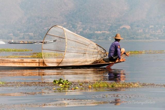 Viaggio in Myanmar, Lago Inle tipica cesta