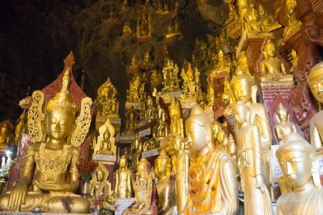 Myanmar Pindaya cave