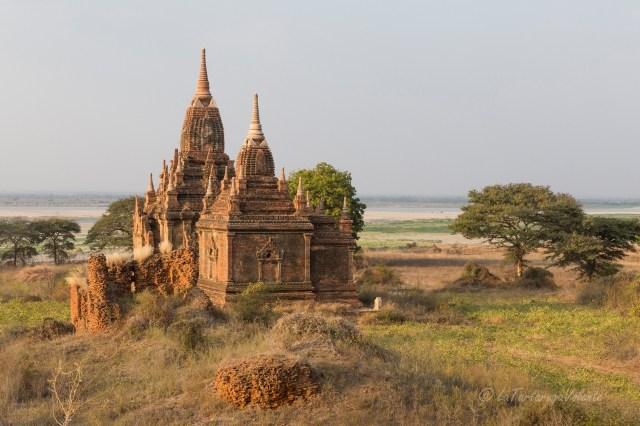 Myanmar templio a Bagan