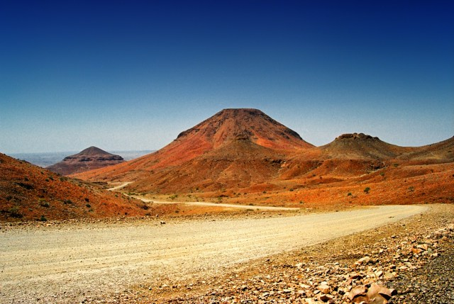 Namibia paesaggio Damaraland