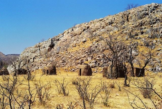 Namibia villaggio Himba