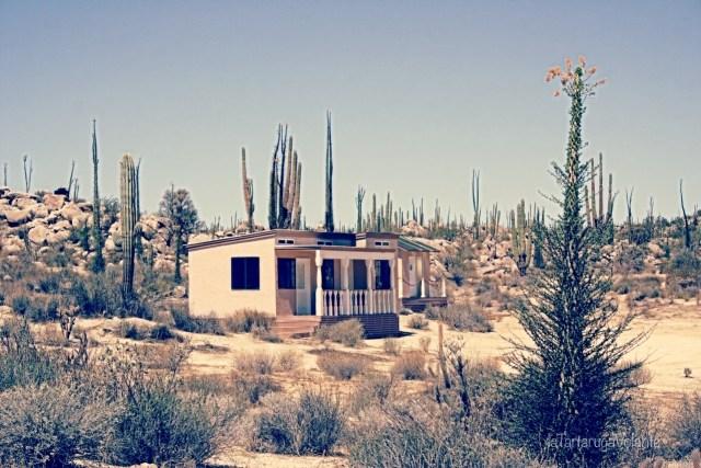 baja california casa nel deserto