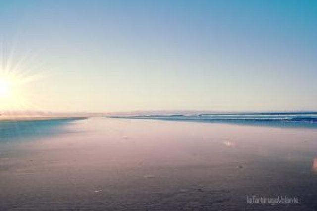 baja california lunga spiaggia di ensenada
