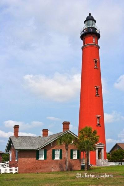 Florida, bellissimo faro rosso