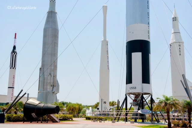 Florida, razzi spaziali a Cape Canaveral