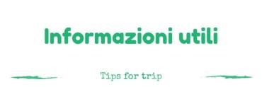 informazioni viaggio