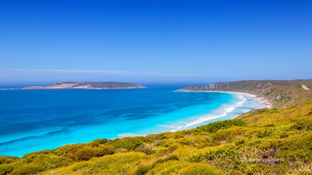 western australia sud, spiaggia infinita bianca