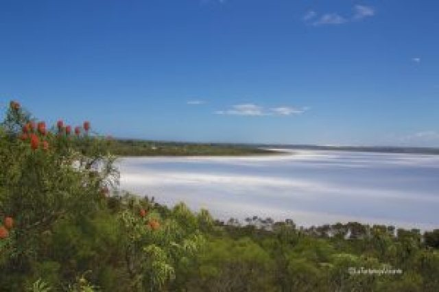 western australia sud, lago salato