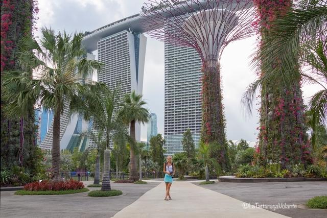 Singapore, Garden By the Bay e me