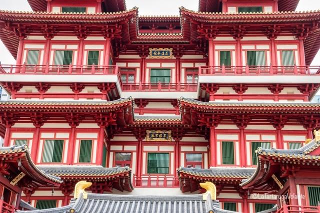 Singapore, tempio dei denti di Buddha