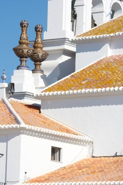 Doñana, particolare chiesa Siviglia