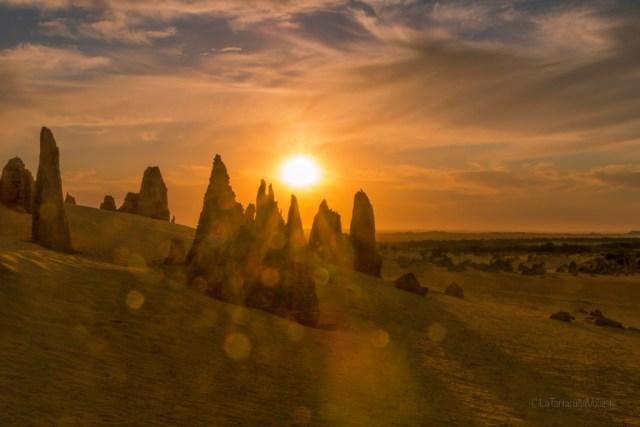 deserto dei pinnacoli, tramonto2