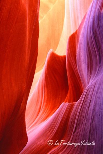 arizona, roccia di antelope canyon