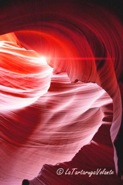 arizona,luci dell antelope canyon