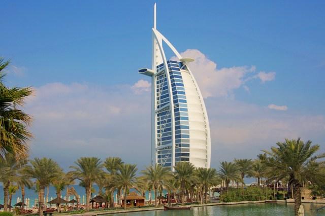 Dubai, Burj hotel