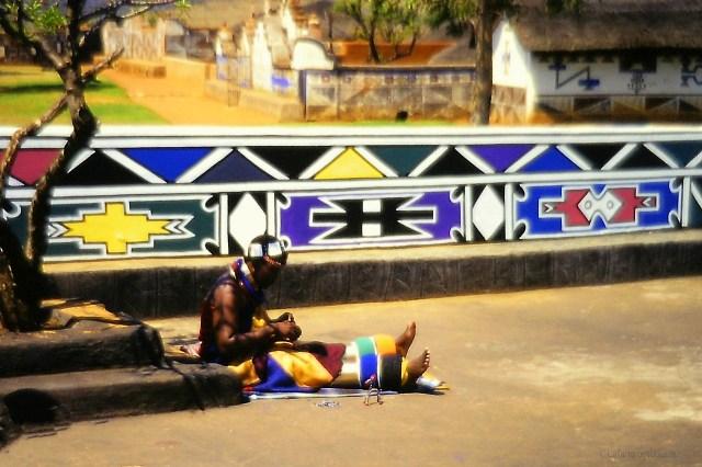 Sudafrica la Ndebele tribu