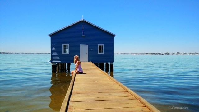 perth, the blue boat house