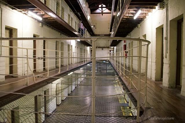 Fremantel prison, secondo piano